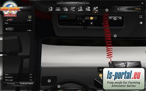 Scania Interior Accessories ETS2