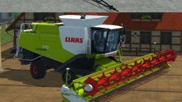 Claas Lexion 770 TerraTrac Package