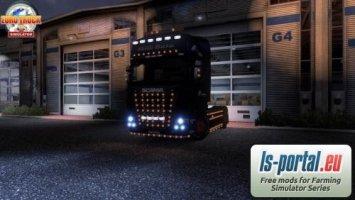 Scania zusätzliche Beleuchtung