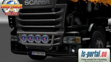 Scania halogens
