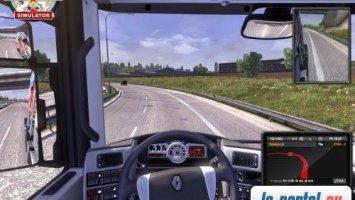 Speed limit mod - max 120kph ETS2