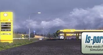 European gas stations