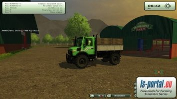 Unimog 1450 AgroFarm v3.1