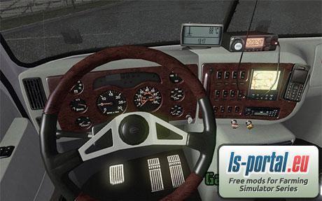 freightliner cascadia interior ets2 mod mod for euro truck simulator 2 ls portal. Black Bedroom Furniture Sets. Home Design Ideas