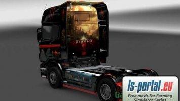 Scania Diablo 3 Skin
