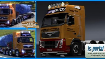 Volvo heavy transport skin with 8x4