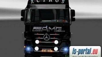 Mercedes Actros AMG Skin