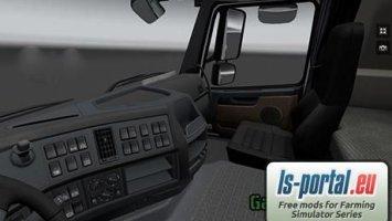 Wnętrze Volvo FH 16 v1.3.1s ets2