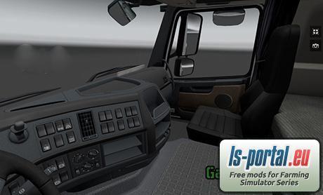 Volvo FH 16 Interior v1.3.1s - ETS2 Mod | Mod for Euro Truck ...