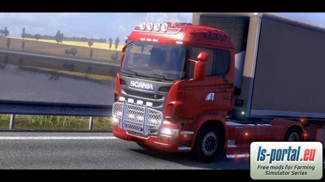 Scania V8 sound ETS2