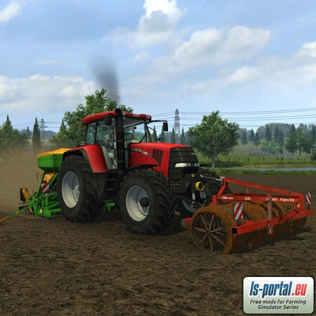 Case CVX175 Tier III Mod for Farming Simulator 2013