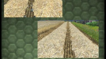Windrow texture Wheat & Barley