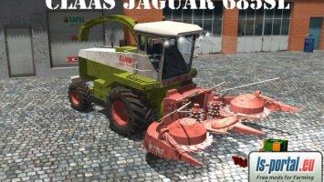 Claas Jaguar 685 SL LS2013