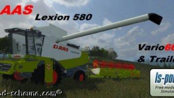 Claas Lexion 580 Pack