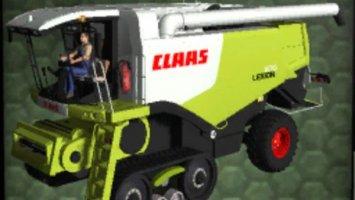 Claas Lexion 670 TerraTrac v2 ls2013