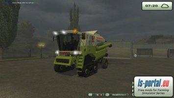 Claas Mega 370 TerraTrac