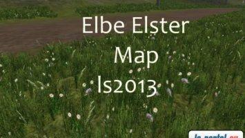 Elbe Elster Map