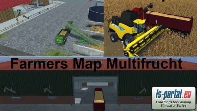 Farmers Map Multifruit v2 - LS2013 Mod   Mod for Farming Simulator 2013   LS Portal