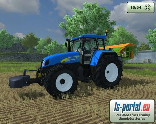 Farming Simulator 2013 New Holland New Holland T7550 15 03.2013
