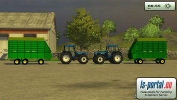 John Deere Forage Wagon v2