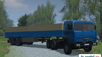 Kamaz 54115 with trailer LS2013