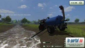 Beczka na wodę do modu wody dla krów v1.1