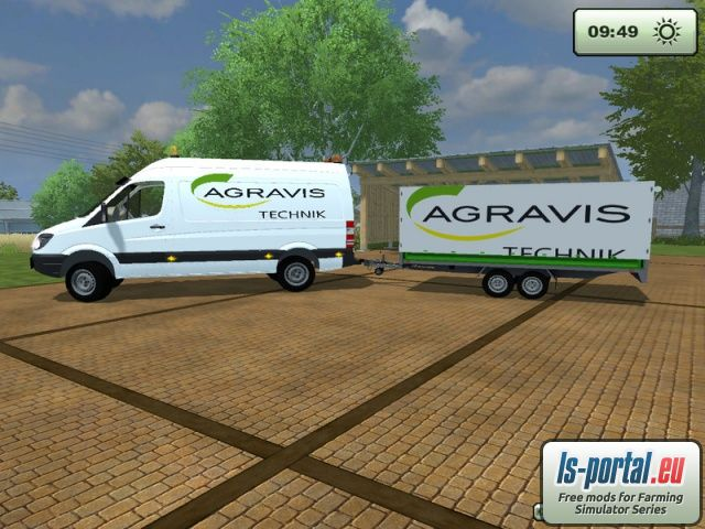 mercedes benz sprinter 311cdi mod mod for farming. Black Bedroom Furniture Sets. Home Design Ideas