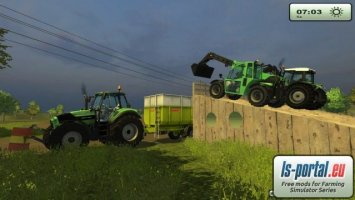 Placeable Big Ramp For two tractors v2