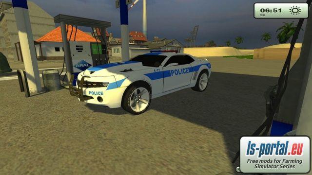 Police Chevrolet Camaro - Mod | Mod for Farming Simulator ...