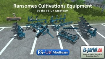 Ransomes Cultivation Equipment