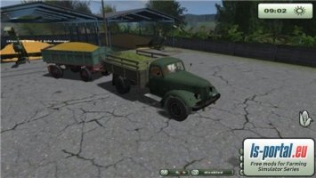 ZIL 164 and D55 trailer LS2013