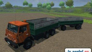 Kamaz 55102 v3 Pack