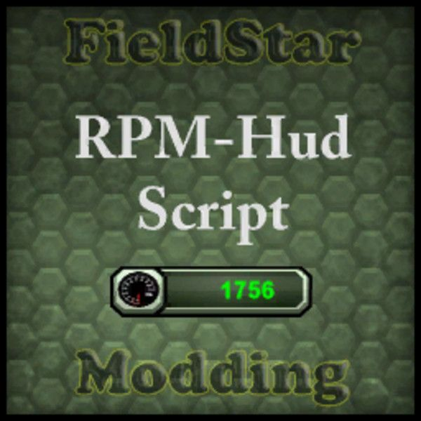Global RPM Hud Script v1.2 LS2013