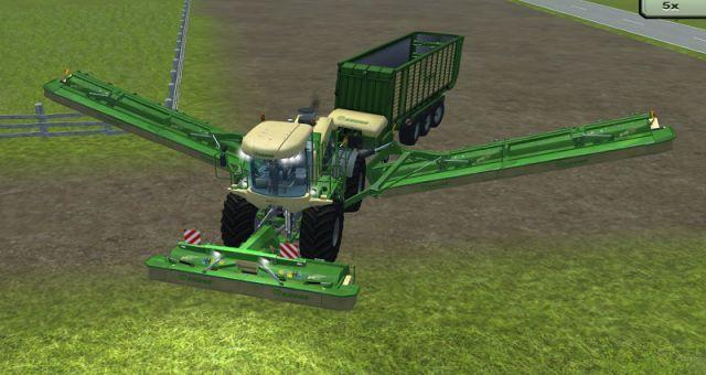 Krone Big M500 Attach 20m Ls2013 Mod Mod For Farming