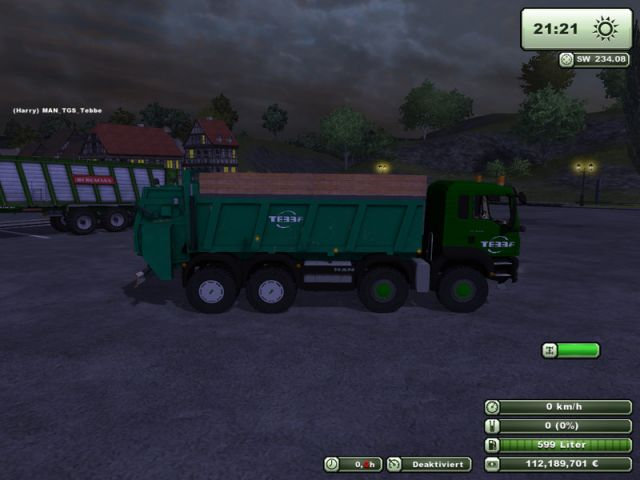 MAN TGS Agrar mit Tebbe Mistreuer LS2013
