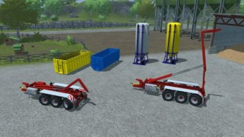 Hooklift Pack Trailer and implements v0.95 BETA