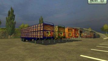 livestock trailer pack
