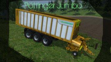 Pöttinger Jumbo CL 10010 Orange