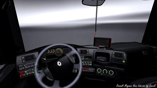 Renault Magnum Interior Renault Magnum Interior Gps