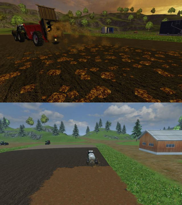Slurry and manure mod