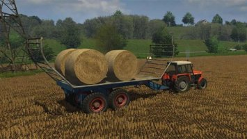 Fortschritt T088 for bale transport