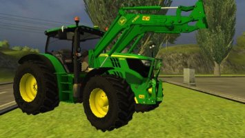 John Deere 6150R with H360 Loader
