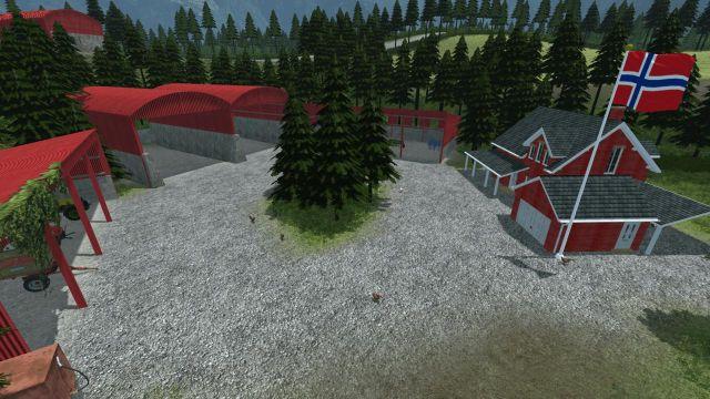 Beautiful Norway LS Mod Mod For Farming Simulator - Norway map ls 2013