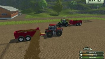 Front Laterally Manure Spreader v2
