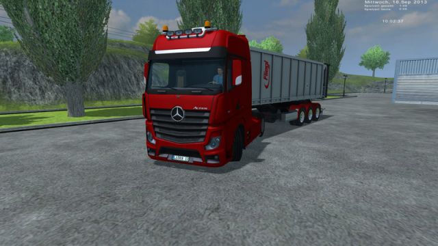 Mercedes Benz Actros MP4 v2 LS2013
