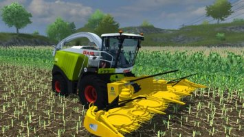 New Holland Maize cutter LS2013
