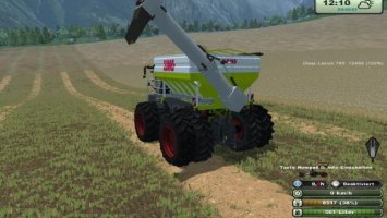 Overloader extension for Xerion Saddletrac