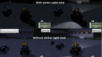 Darker night mod