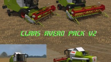Claas Avero Pack v2