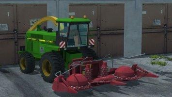 John Deere 6810 + Kemper 4500 ls2013